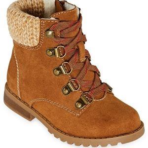 Okie Dokie Lil Adrianna Block Heel Boots